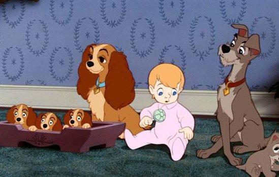 Видео к мультфильму «Леди и бродяга» (1955) Blu-ray трейлер