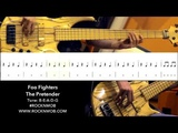 How to play - Foo Fighters - The Pretender (ROCKNMOB BASS GUITAR)