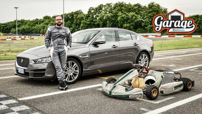 Jaguar XE la prova di Andrea fra curve e cordoli