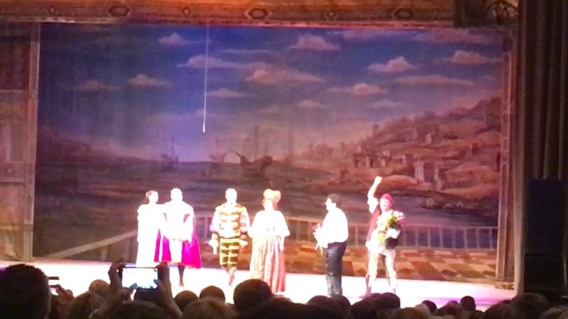 Спектакль «Приворотное зелье» с Марией Ароновой и Полицимайко