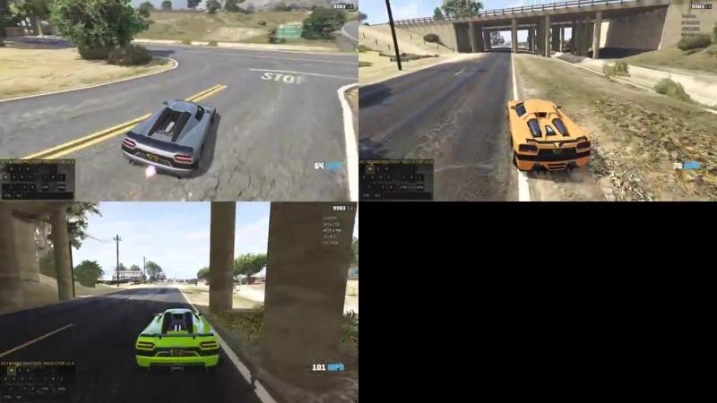 [metoxys] GTA Online: Entity XXR vs. Entity XF (testing)