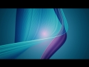 Turquoise Blue Particle Wave Lines 4K Relaxing Screensaver