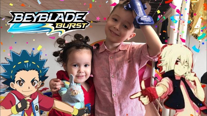 Бейблэйд бёрст Волт Аой и Шу Куренай Новая серия в реальной жизни Бой на арене Кто победит?