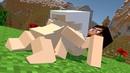 Zombie vs Villager Life 3 - Alien Being Minecraft Animation 2 3 4 5 6 7