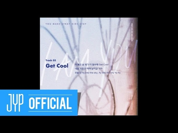 Stray Kids 〈I am YOU〉 Inst. Lyric Card 5 Get Cool