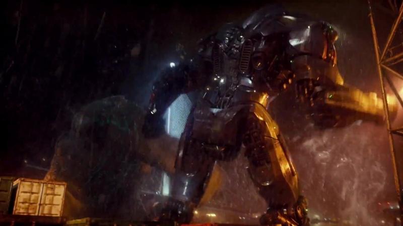 Боевой робот«Бродяга» против кайдзю «Громилы»