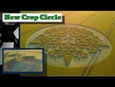The Most Intricate Crop Circle This Year Just Appeared in Martinsell Hill