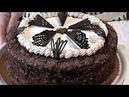 Торт МОЛОЧНАЯ ДЕВОЧКА тесто на сгущенке, со сливочно- творожным кремом, шоколадом. Самый нежный молочный торт.