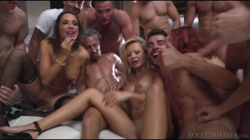 Blue Angy, Silvia Lamberti, Joanna Bujoli, Linda Leclair, Malena (Rocco Siffredi Hard Academy #04) [Gonzo Hardcore Anal DP]