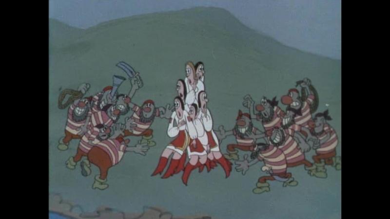 Как казаки невест выручали (детям от 4 лет)