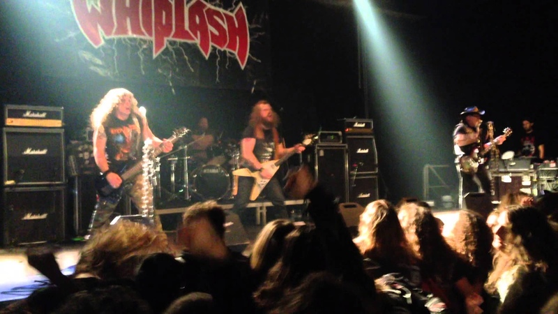 WHIPLASH - POWER THRASHING DEATH live at Metal Assault Festival feat. Olle Hedenström
