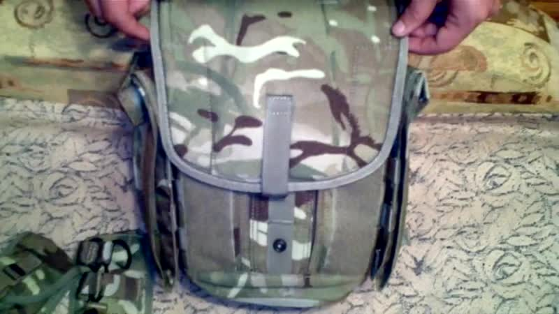 Британская сумка для противогаза MTP