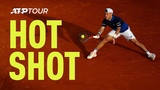 Hot Shot Schwartzman Slides Super Shot Past Edmund In Monte-Carlo 2019
