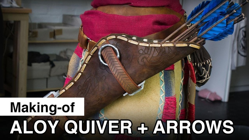 Aloy Cosplay Quiver and Arrows Making of