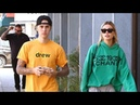 Justin Bieber Is SO HANGRY On His Way To Eat Lunch With Wifey Hailey Baldwin