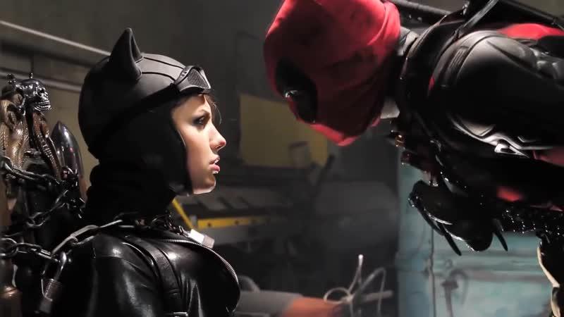 Super Power Beat Down Бэтмен против Дедпула Русская озвучка