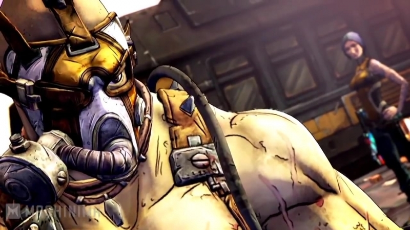 Borderlands 2 Псих Rus Krieg A Meat Bicycle Built for Two
