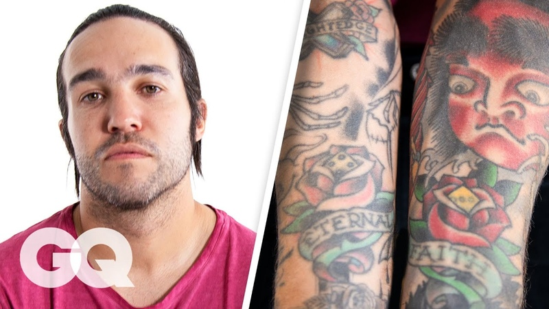 Pete Wentz Breaks Down His Tattoos   GQ
