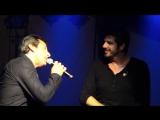 Patrick Fiori et Jean Luc Reichman - Mistral Gagnant ! Ajaccio 4_10_2013 par Ang