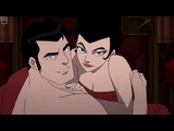 Bruce Wayne &amp Selina Kyle make love Batman Gotham by Gaslight