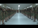 Fresh recruits in Marine Corps Boot Camp. Новобранцы прибыли на нашу военную базу.
