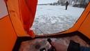 ПОДЛЕДНЫЙ ФИДЕР В ПАЛАТКЕ. Зимняя рыбалка. ICE FEEDER