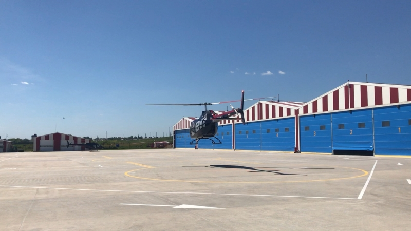 Bell 505 take off