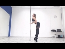 Exotic pole dance.Omsk.Lusy