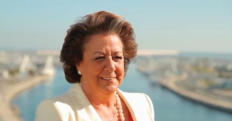 Rita Barberá-Video Presentación Candidatura Ayuntamiento de Valencia Elecciones Municipales 2015