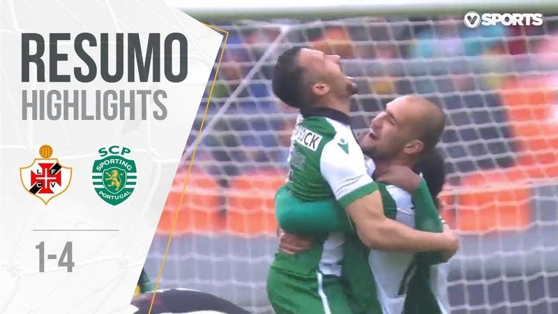 Highlights | Resumo Lusitano 1-(4) Sporting (Taça de Portugal 1819 4)