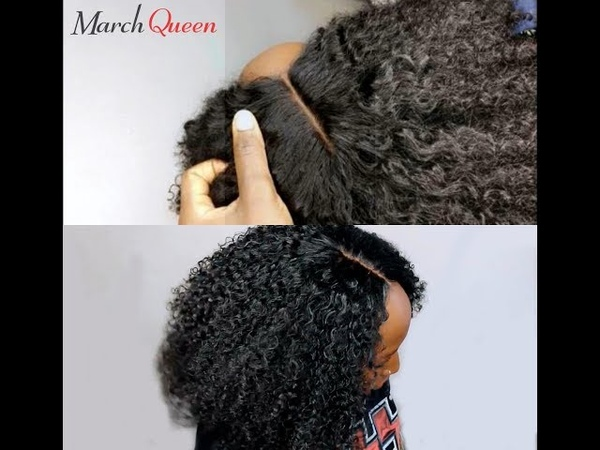 Sew-in Tutorial No Leave Out Very DETAILED FT MarchQueen Brazilian Curly Hair