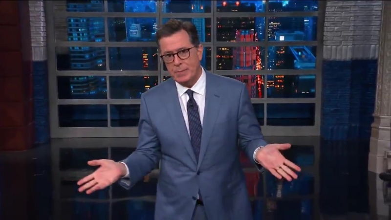 Colbert Agrees With Trump On 1 Thing ― And It Has To Do With Obama