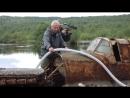 Подъем со дна озера штурмовика Ил-2