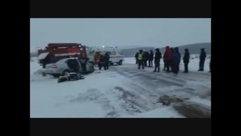 ДТП Башкортостан, в Благовещенском район 18 03 18 трое погибших, из них двое детей