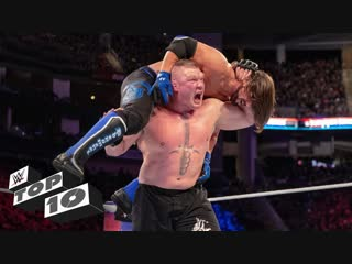 [WWE QTV]☆[Top 10]Classic Champion vs. Champion showdowns]