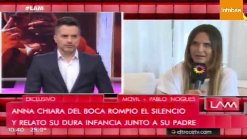 Picante version de Amalia Granada en LAM sobre el conflicto de Andrea del Boca con Ricardo Biasotti