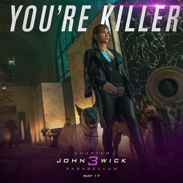 Новые постеры «Джона Уика 3» в стиле валентинок