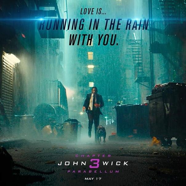 Новые постеры «Джона Уика 3» в стиле валентинок Специально ко Дню всех влюбленных Lionsgate выпустили порцию промопостеров «Джона Уика 3: Парабеллум», стилизованных под открытки-валентинки. Джон