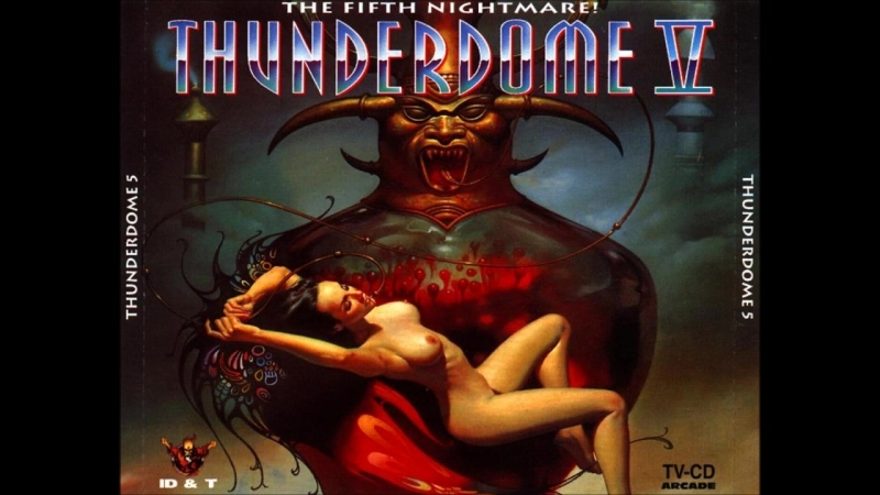 The HARDSEQUENCER ~ FEEL SO GOOD! ( THUNDERDOME.V CD-1, IDT.Company, Music Records Europe.1994 )