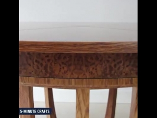 5-Minute Crafts - Transforming Tables
