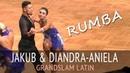 Jakub Lipowski Diandra-Aniela Illes | Румба | GOC2018 GrandSlam LATIN - Четверьфинал