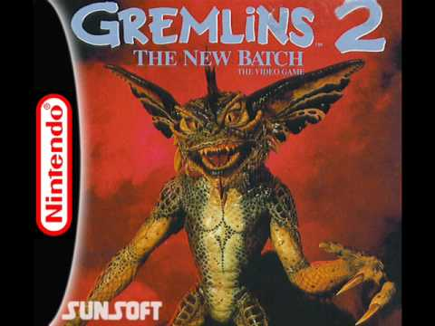 Gremlins 2 Music (NES) - Title Screen