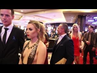 2018 AVN Stars walking the red carpet at The Hard Rock on January 27 in Las Vegas