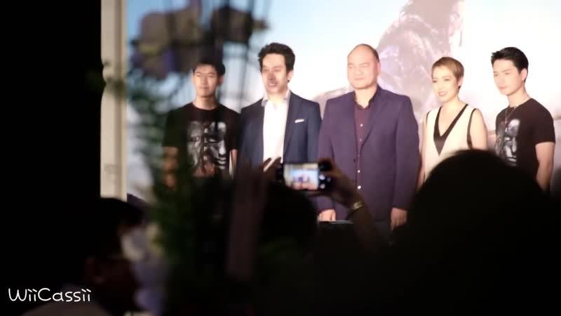 Krist Singto หลังเวทีกับน้องหมา เปิดตัวหนัง AlphaMovie at สยามภาวลัย Paragon