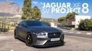 Jaguar XE SV Project 8 Reviewing a Road Racer on the Targa Florio Carfection 4K