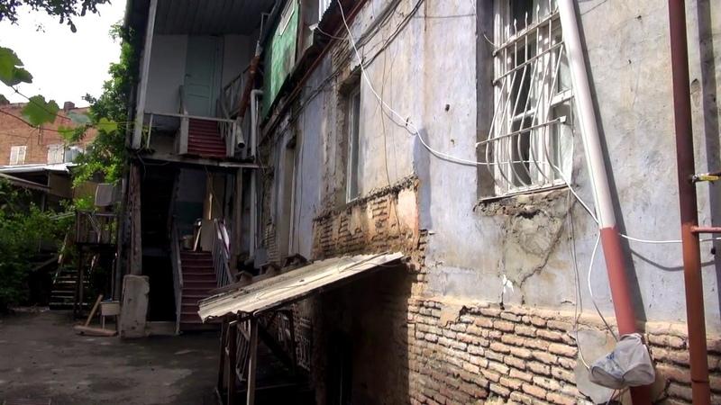 Грузия своим ходом. Недорогое жилье в Тбилиси. Наши апартаменты. Едем в Рустави. Крепость Рустави