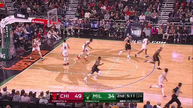 NBA. Bulls - Bucks.720p. 16.11.18