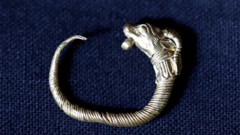 В Иерусалиме нашли золотую серьгу эллинистического периода