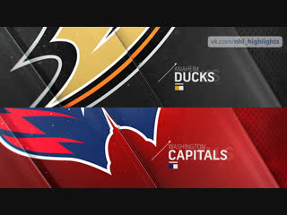Anaheim Ducks vs Washington Capitals Dec 2, 2018 HIGHLIGHTS HD