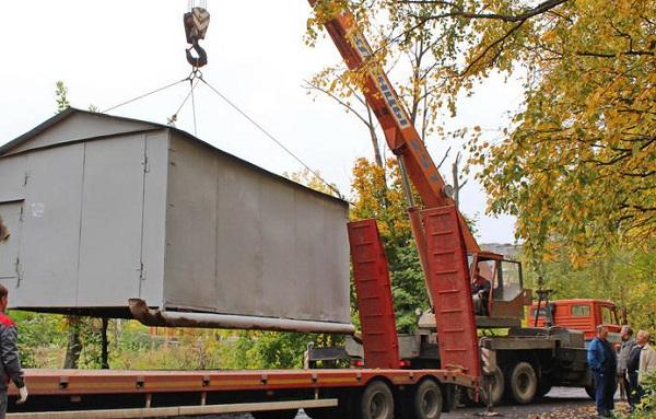 В Черкесске будут убирать незаконно возведенные гаражи